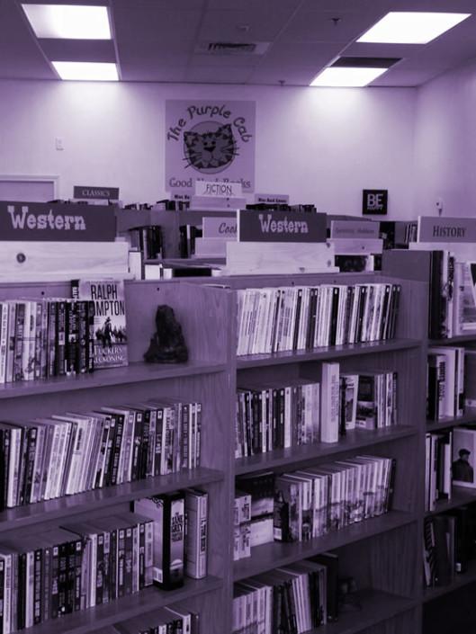 Used Books at the Purple Cat in Prescott AZ